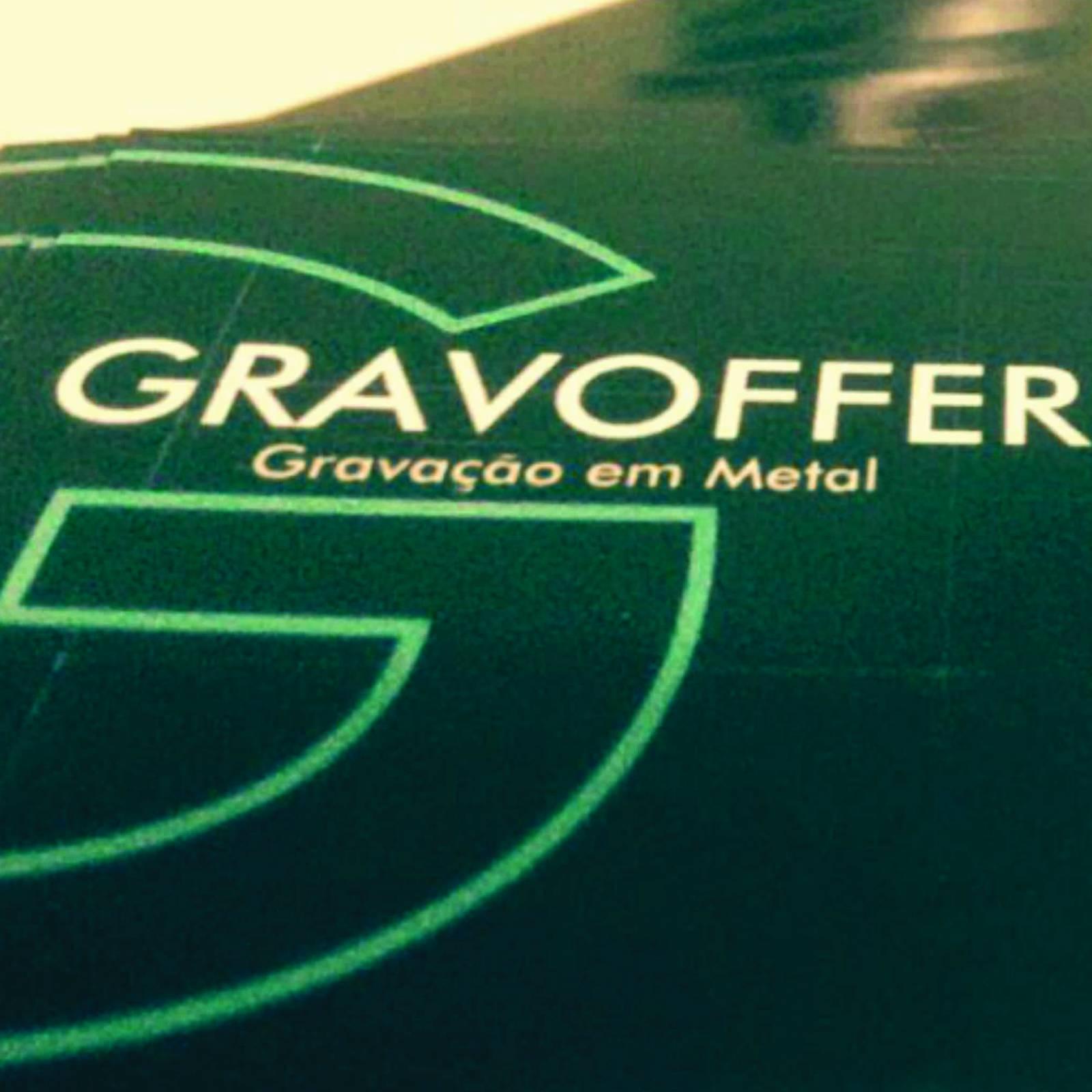 Gravoffer Gravação em metal